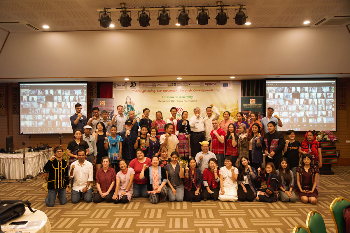 The AIPP 8th General Assembly delegates