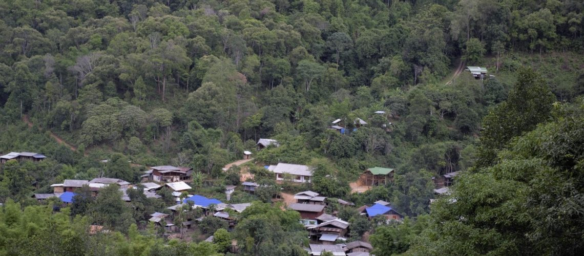 Mae Jok Village; Photo Credit: Lakpa Nuri Sherpa, Asia Indigenous Peoples Pact (AIPP)