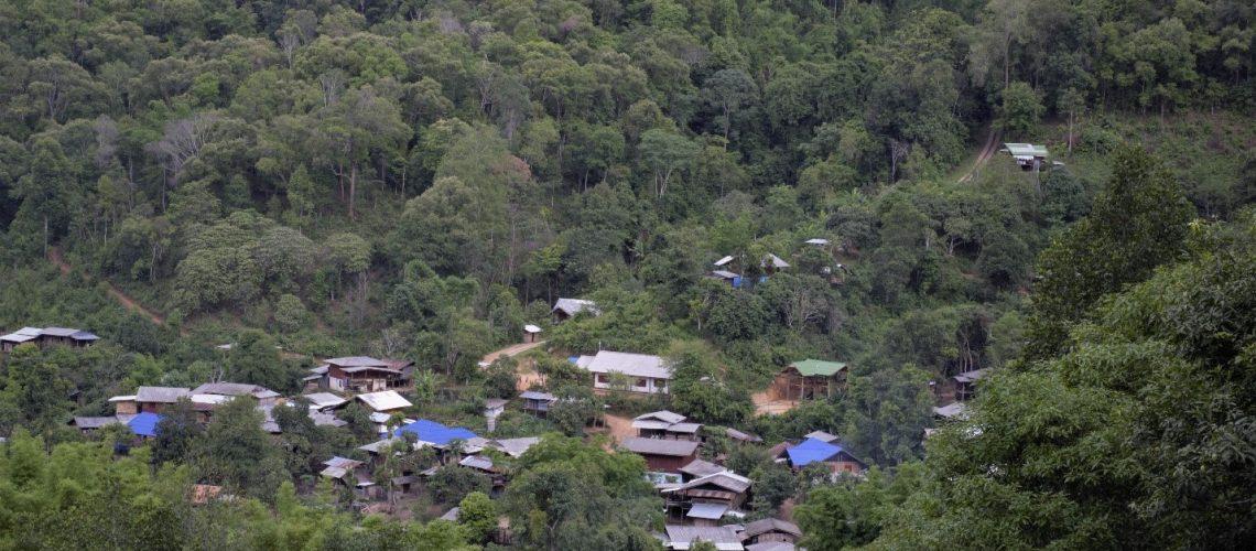 Mae Jok Village; Photo Credit: Lakpa Nuri Sherpa, Asia Indigenous Peoples Pact (AIPP)